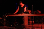 Prurient performs/ Photo by Ian Grice