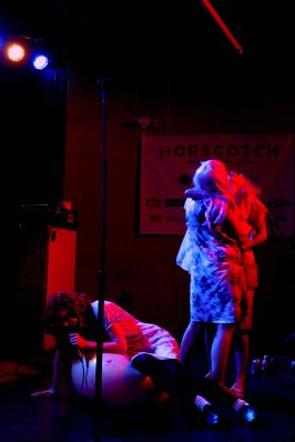 Jenny Hval and the Apocalypse Girls perform