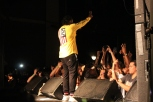 Pusha T performs/ Photo by Ian Grice